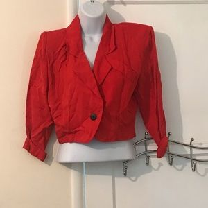 80s Nordstrom cropped jacket